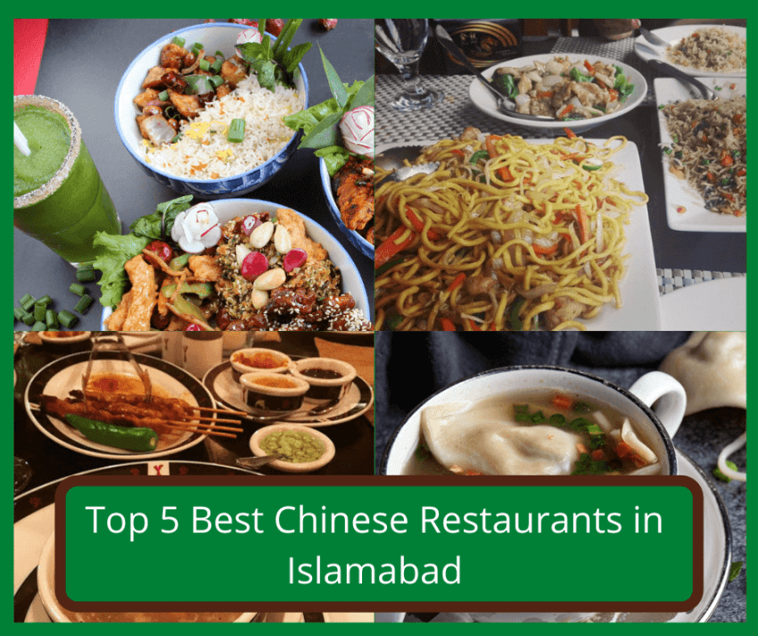 top 5 chinese restaurants in islamabad