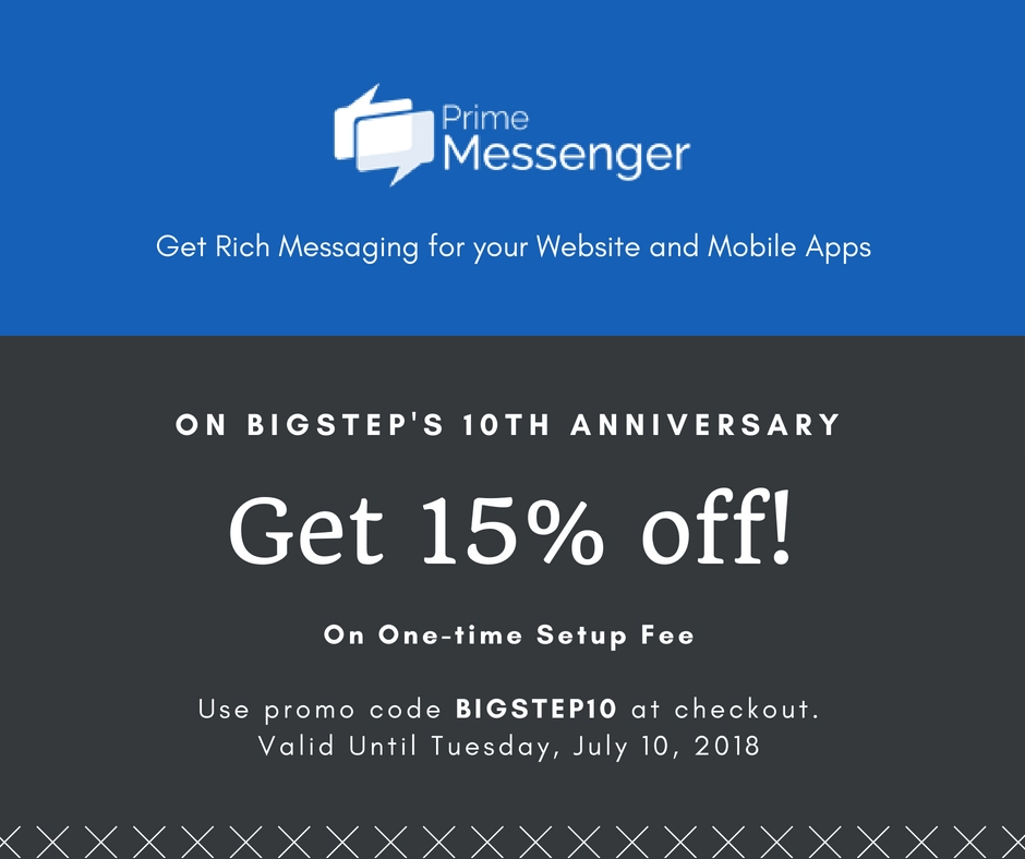 Anniversary Discount