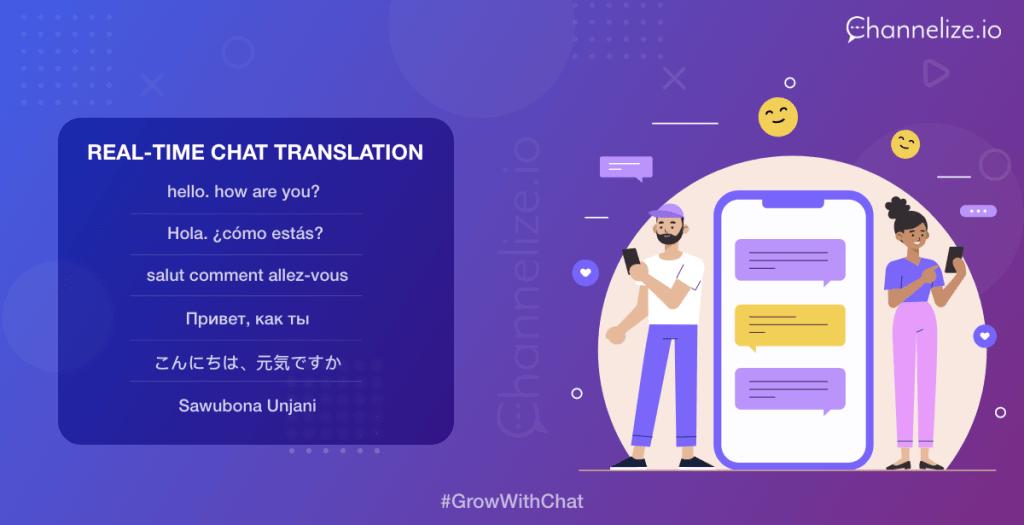 Chat translation