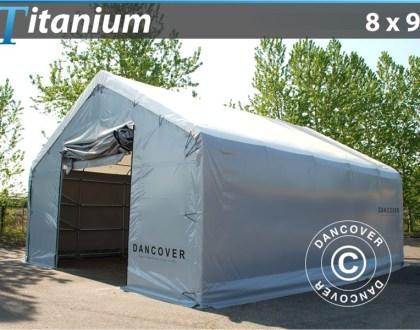 Hall de stockage Titanium 8 x 9 x 3 x 5 m