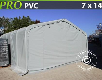 Hall de stockage-PRO-7X14X38-M-PVC
