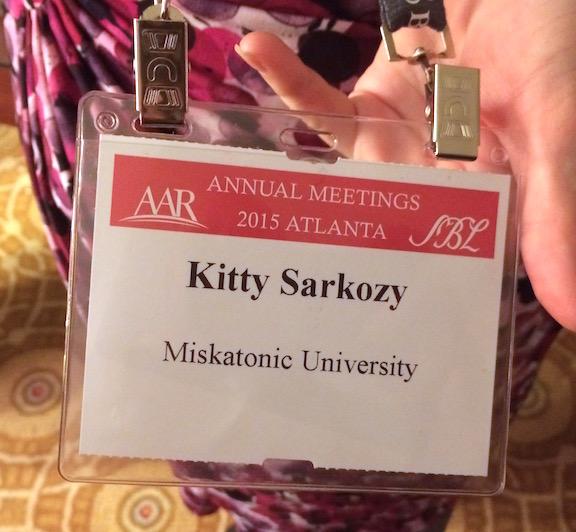 Kitty's Name Tag