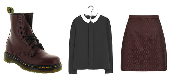 Look glamour Dr Martens