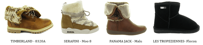Tendance Cocooning chaussures