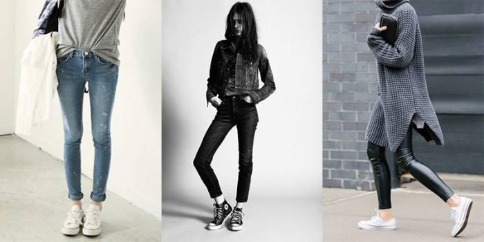 Style Converse Pantalon