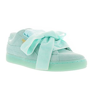 Puma Suede Heart Reset Turquoise