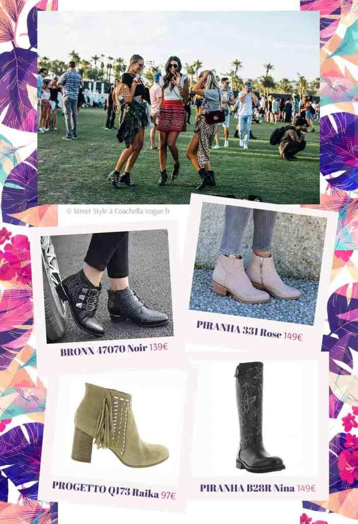 santiags et boots femme