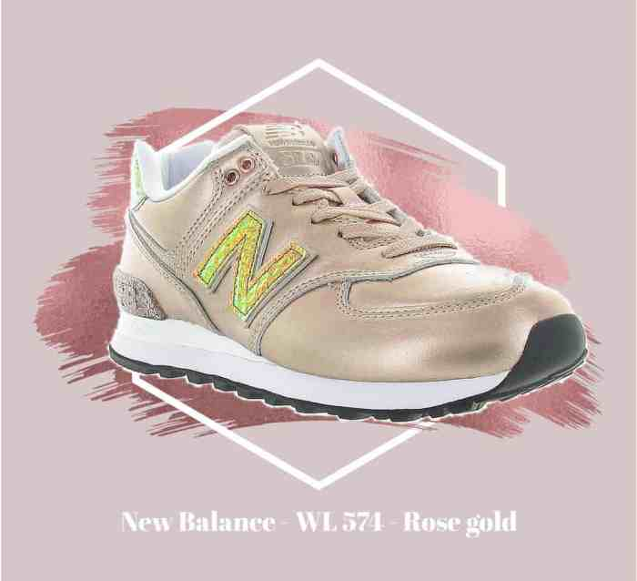 NEW BALANCE - WL574 - Rose