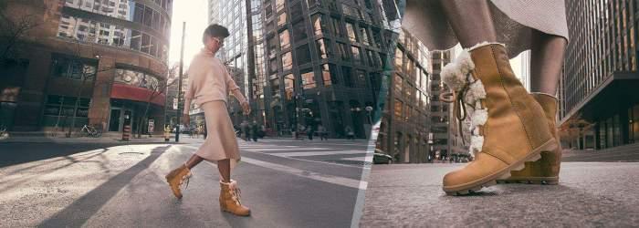 chaussuresonline-sorel-marque-confort-imperméable-joanwedge2-nl3021-hiver-fourrure-bottinescompensées-marron-lacets