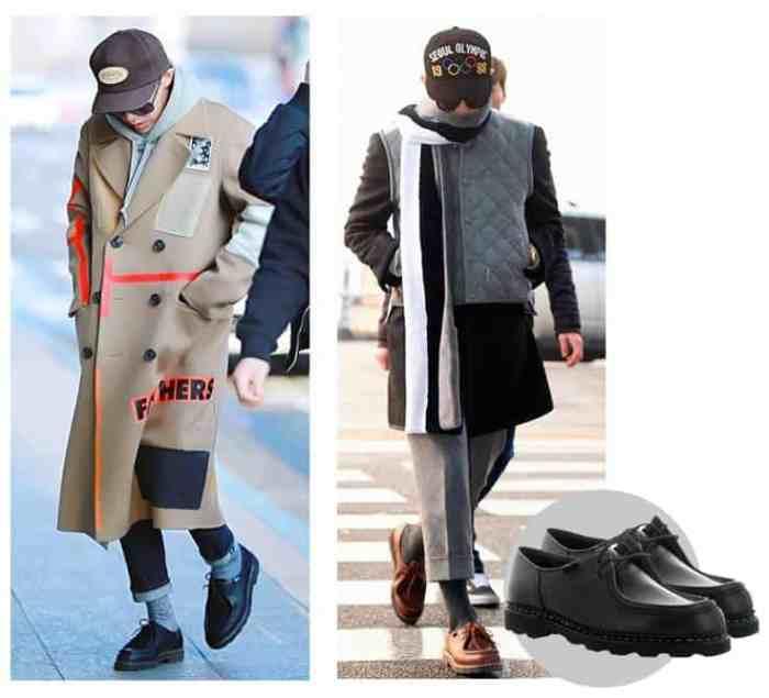 Chaussuresonline-paraboot-gdragon-popstarcoreen-chaussure-chaussuresdestars-homme-tendance-mode-monsieur-style-idéelook-blogdechiara-article-blogchaussure