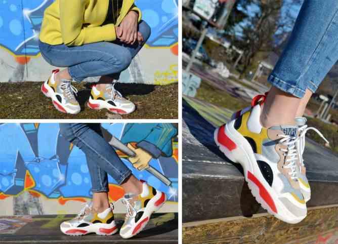 chaussuresonline-ER334E1VR-SMR-semerdjian-dadshoes-jaune-rouge-basketsXXL-tendance-mode-femme-nouvellecollection-coloré-sneakers-semellesXXL-ootd-idéelook