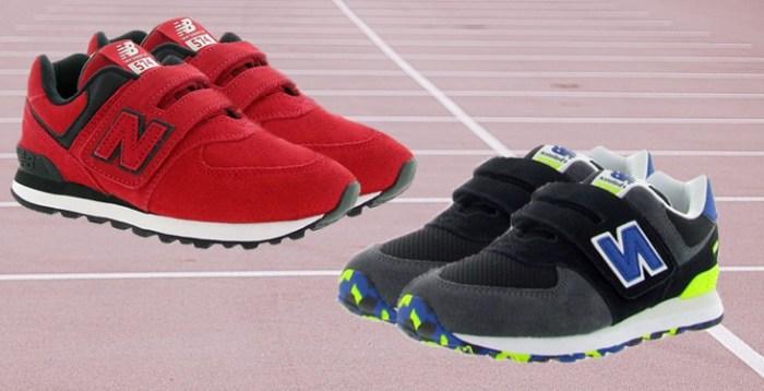 chaussuresonline-newbalance-tendance-mode-sport-sportwear-garçon-rouge-bleu-baskets-sneakers--nouvellecollection