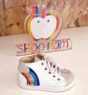 Chaussuresonline-Pom'Cannelle-blogdechiara-blogchaussures-printempsété2019-bébéfille-boubacloud-arc-en-ciel-nuage-météo-fillette-choupette-mimi-tendance-mode