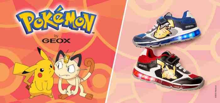 Chaussuresonline-pokémon-pikachu-attaqueéclair-rouge-tendance-mode-juniorgarçon-miaou-geox-nouvellecollection-shuttlegarçon