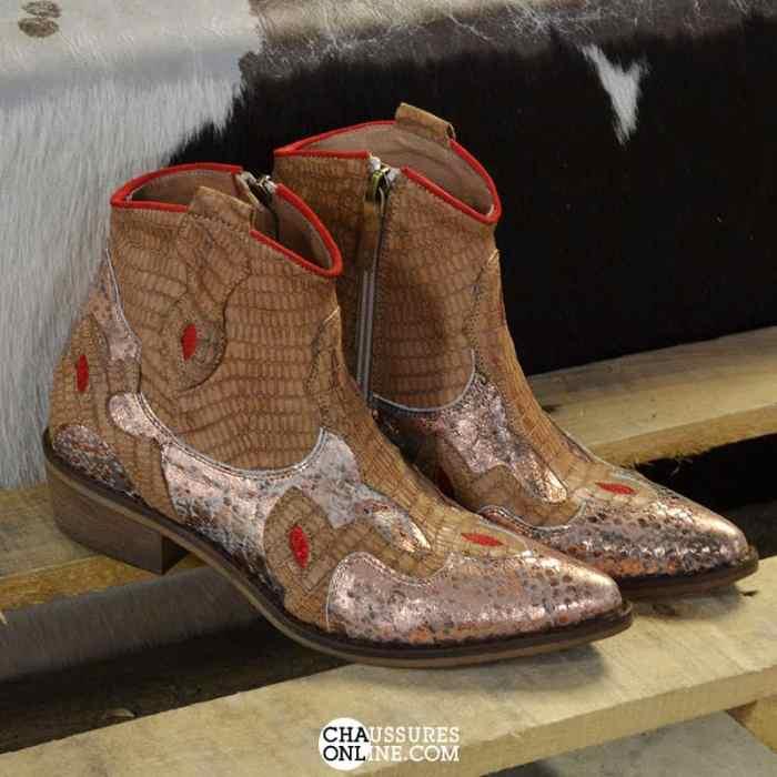 SEMERDJIAN-BOOTS-MU374-MARRON-CHAUSSURESONLINE