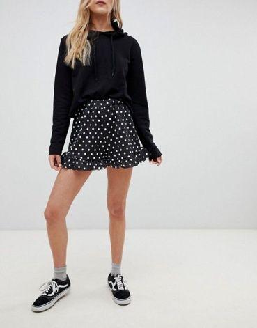vans avec jupe courte - chaussuresonline