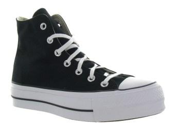 Converse à plateforme noir - chaussuresonline