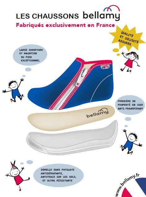 fabrication chaussons bellamy - chaussuresonline