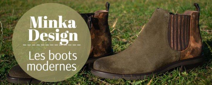 Bottines et boots Minka Design chez ChaussuresOnline.com