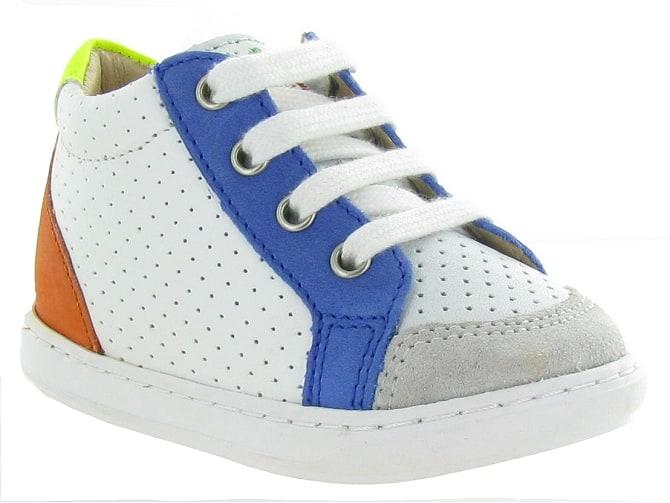 Chaussures pour bébé Garçons SHOO POM BOUBA ZIP BOY- e sur ChaussuresOnline.com