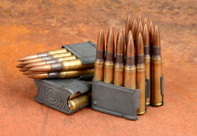 .30-06 Springfield Ammo in Clips