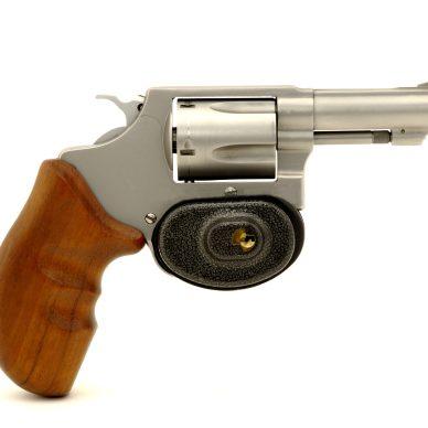 revolver with trigger lock