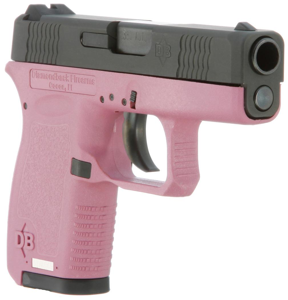 Pink And Black Ruger 380