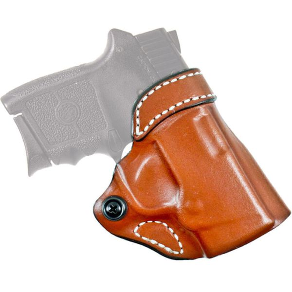 Brown Leather Cross Draw Holster