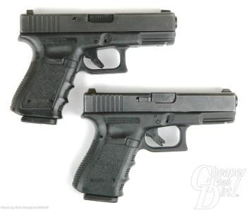 Glock 23 and Glock 19