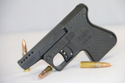 Heizer Defense pocket pistol in 7.62x39mm