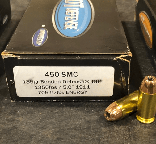 450 SMC from DoubleTap ammunition