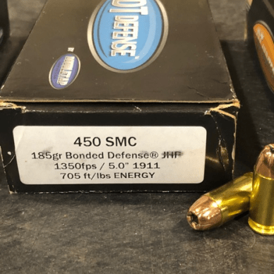 450 SMC from DoubleTap ammunition