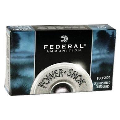 ATK Federal Power Shok Buckshot