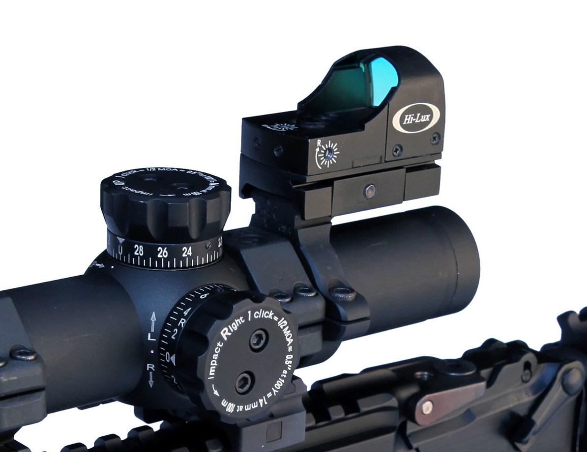 Black Hi-Lux AK-CMR Tac-Dot 1.
