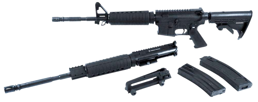ATI Omni Hybrid rifle combination