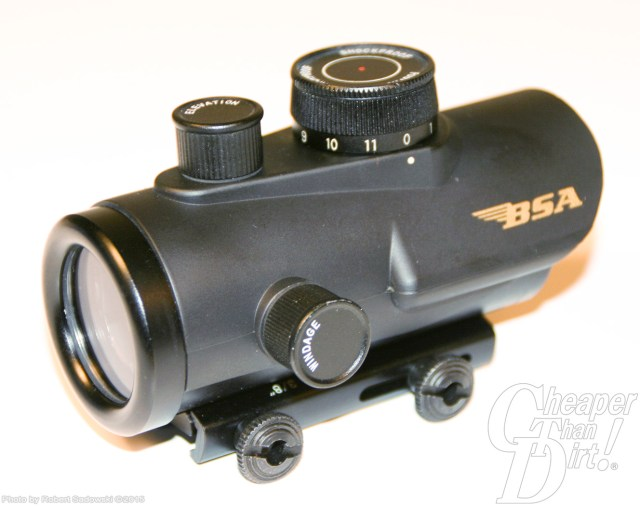 Black red dot sight from BSA