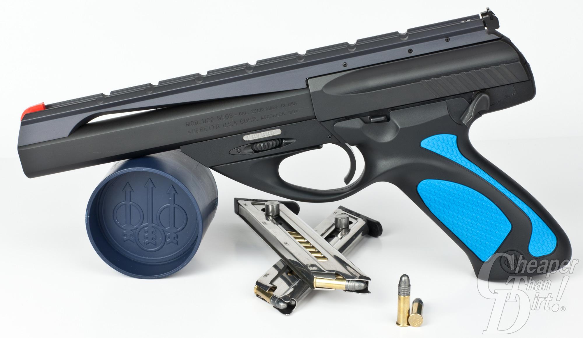 Beretta U22 Neos Review The Future Of Rimfire Handguns The Shooter S Log