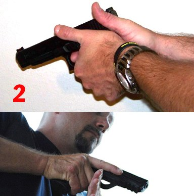 Perfect Handgun Grip Info Graphic