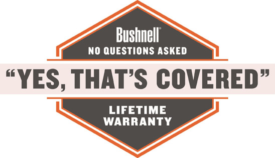 Bushnell yes that is covered logo