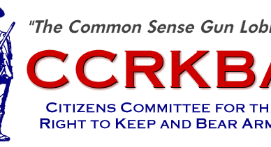 CCRKBA's red white and blue Logo