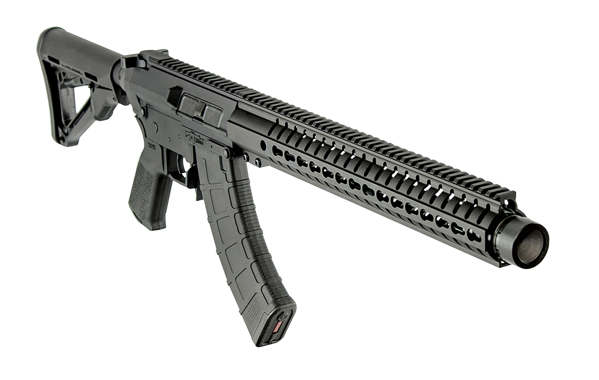 CMMG Mk47 with KRINK muzzle device