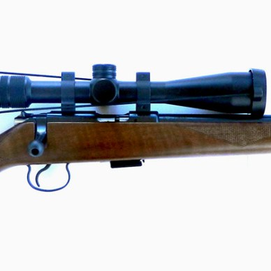 CZ 455 rifle, Right profile