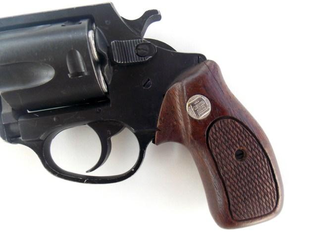 Charter Arms Bulldog revolver wood grip