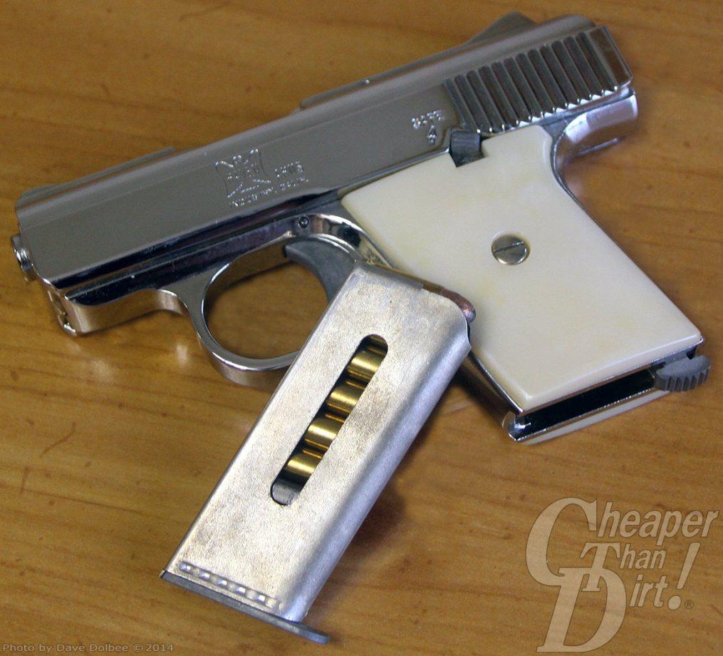 Raven Arms .25 Semi-automatic pistol