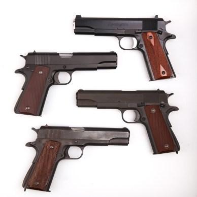 4 GI type 1911 pistols