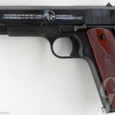 Cimarron 1911 handgun left side