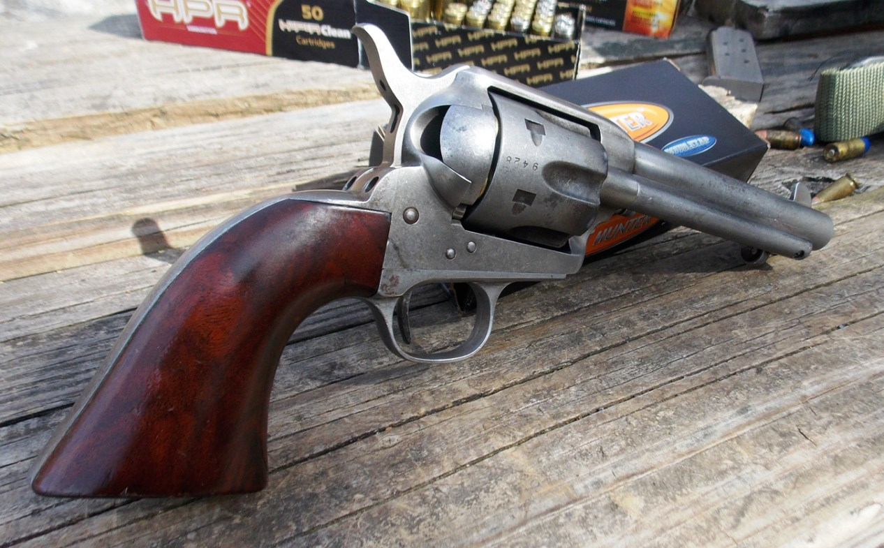 Review: Cimarron Revolvers — Single Action Army for the