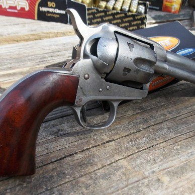 Single Action Army revolver right profile