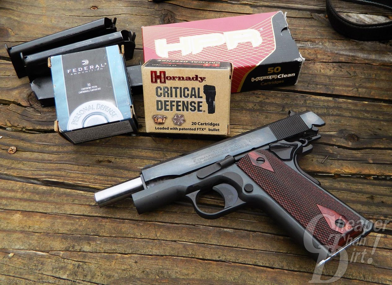 Range Report: The '1911 Commander' Way - The Shooter's Log
