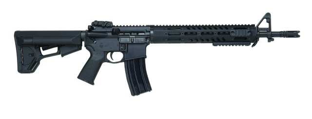 DPMS TPR Ar-15 rifle right side black